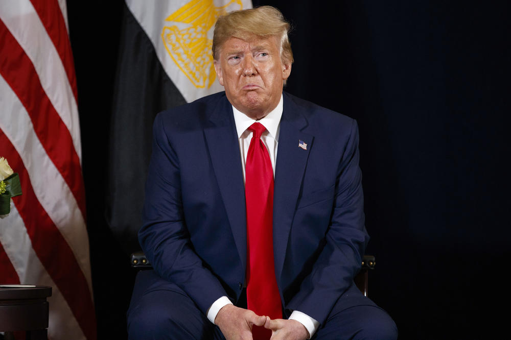 Импичментот не го загрижува Трамп