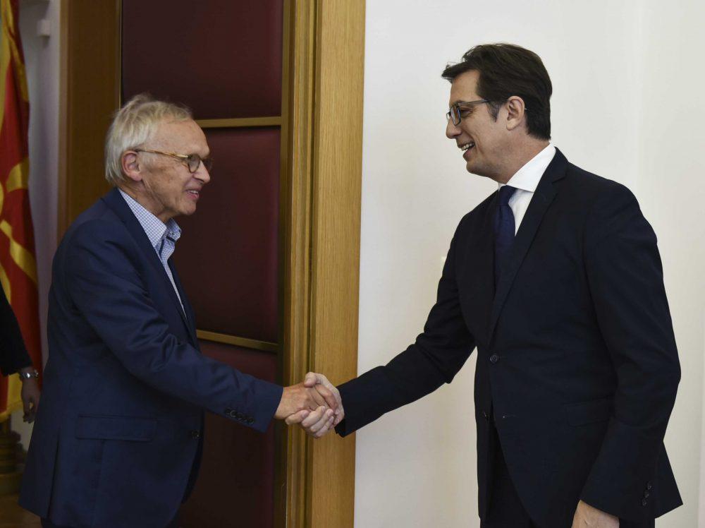Пендаровски-Прибе: Нагласена важноста на владеењето на правото во процесот на евроинтеграциите