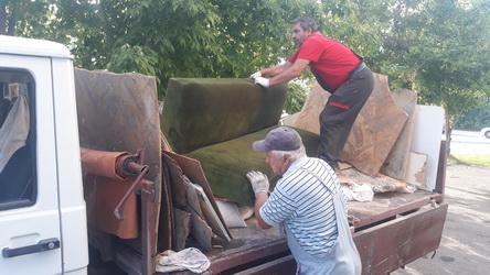 Акција за собирање кабаст отпад во Кисела Вода