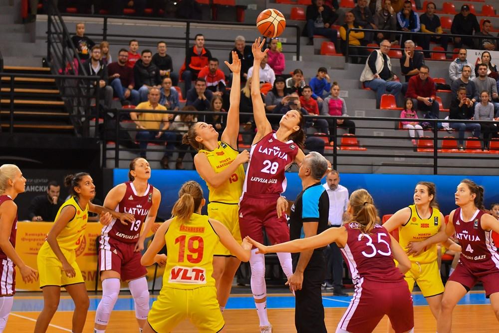 И Летонките пресилни за македонските кошаркарки