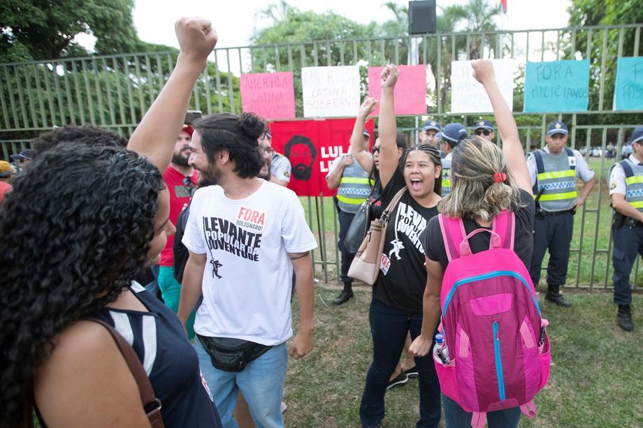 """Мирно се заврши """"окупацијата"""" на венецуелската амбасада во Бразил"""