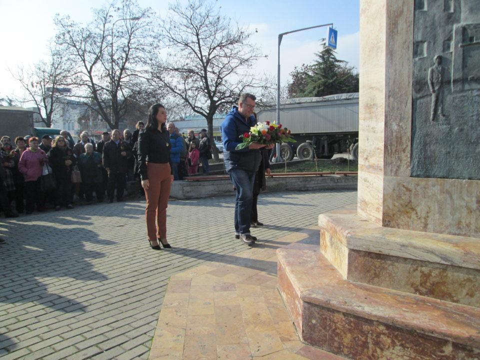 Општина Бутел ја одбележа 110-годишнината од раѓањето на Вапцаров