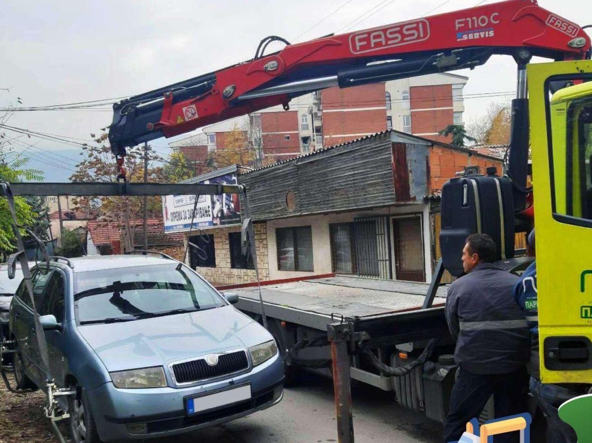 За една недела санкционирани 263 возачи кои непрописно паркирале во Центар