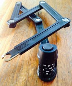 Abus Bordo Combo Lite Lock in Black