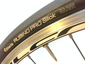 Rubino Pro Slick Road Bike Tires