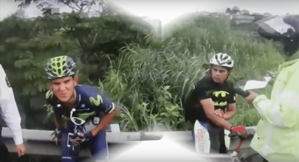 andry amador batman movistar pulled over