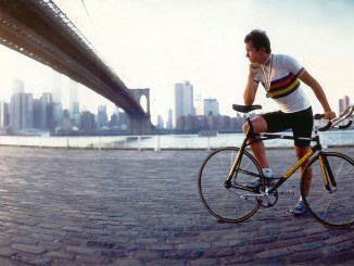 USA Cycling's 1990 Athlete of the Year; Mike McCarthy