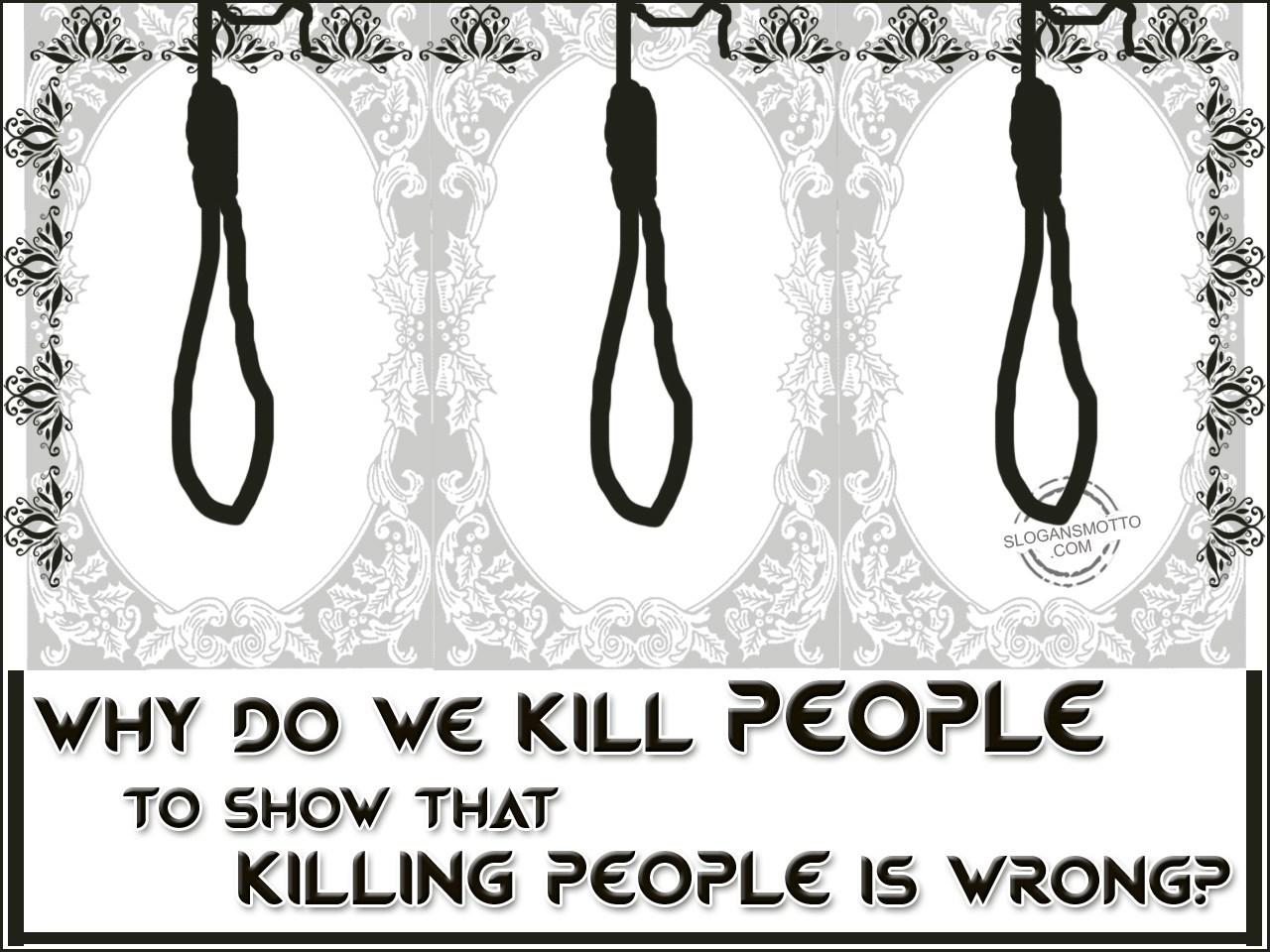 Anti Capital Punishment Slogans