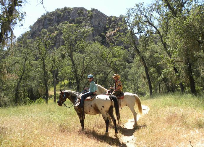 Santa Margarita Lake Horse Trail Ride