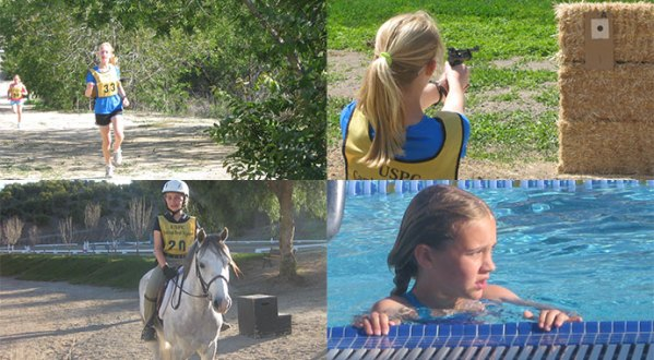 Pony Club Tetrathlon