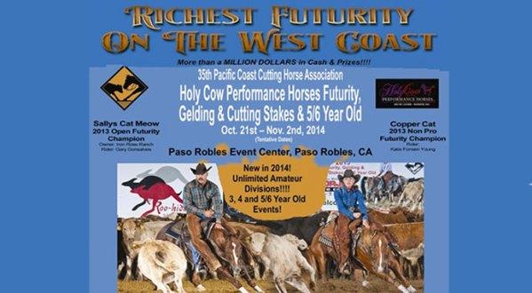 PCCHA Richest Futurity On The West Coast 2014