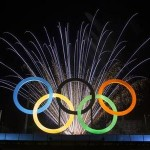 Olympic Rings in Rio. Associated Press Photo