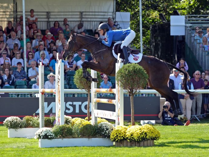 Andrea Baxter's Burghley Redemption Plan with Indy 500 | SLO Horse News