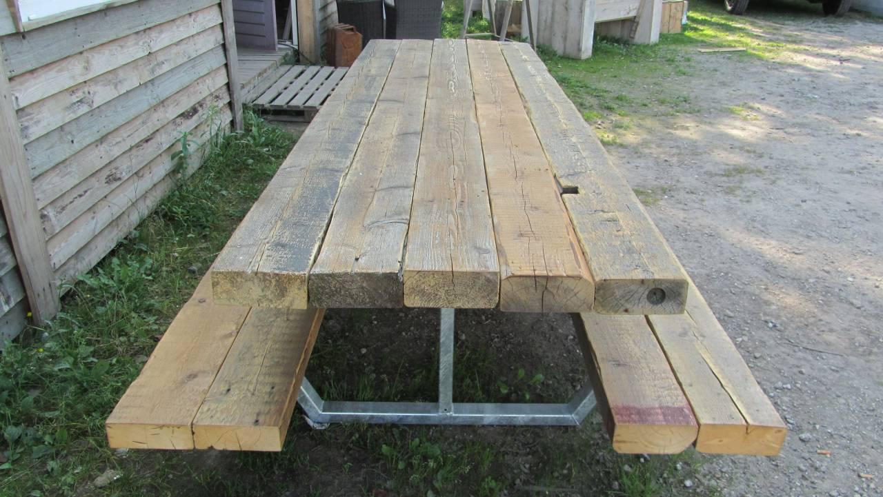 Houten tafelbladen voor buiten webshop nieuwe losse for Houten trap voor buiten
