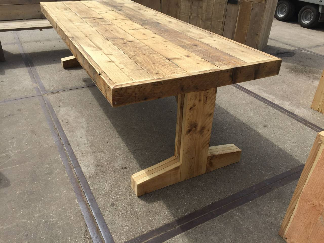 Tafels module steigerhout furniture unieke steigerhouten