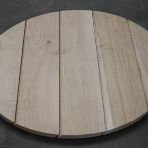 Horeca tafel rond van eiken