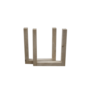 Houten U-frame