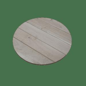 3.06 Rond horeca tafelblad licht eiken