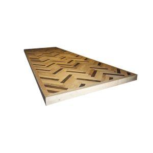 3.09 Visgraat tafelblad in Together Oak