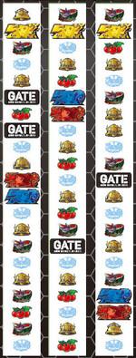 パチスロ GATE リール配列