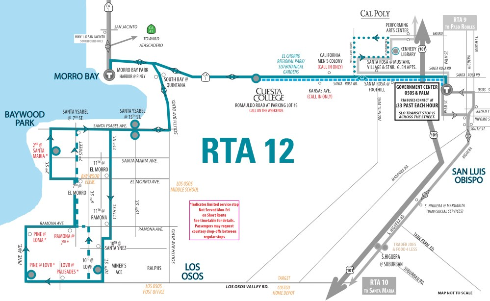 medium resolution of view detailed route map