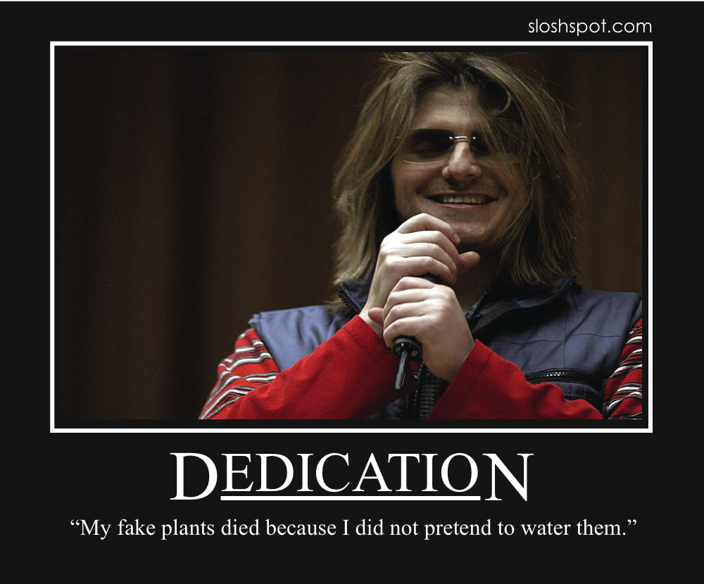 mitch hedberg motivational posters