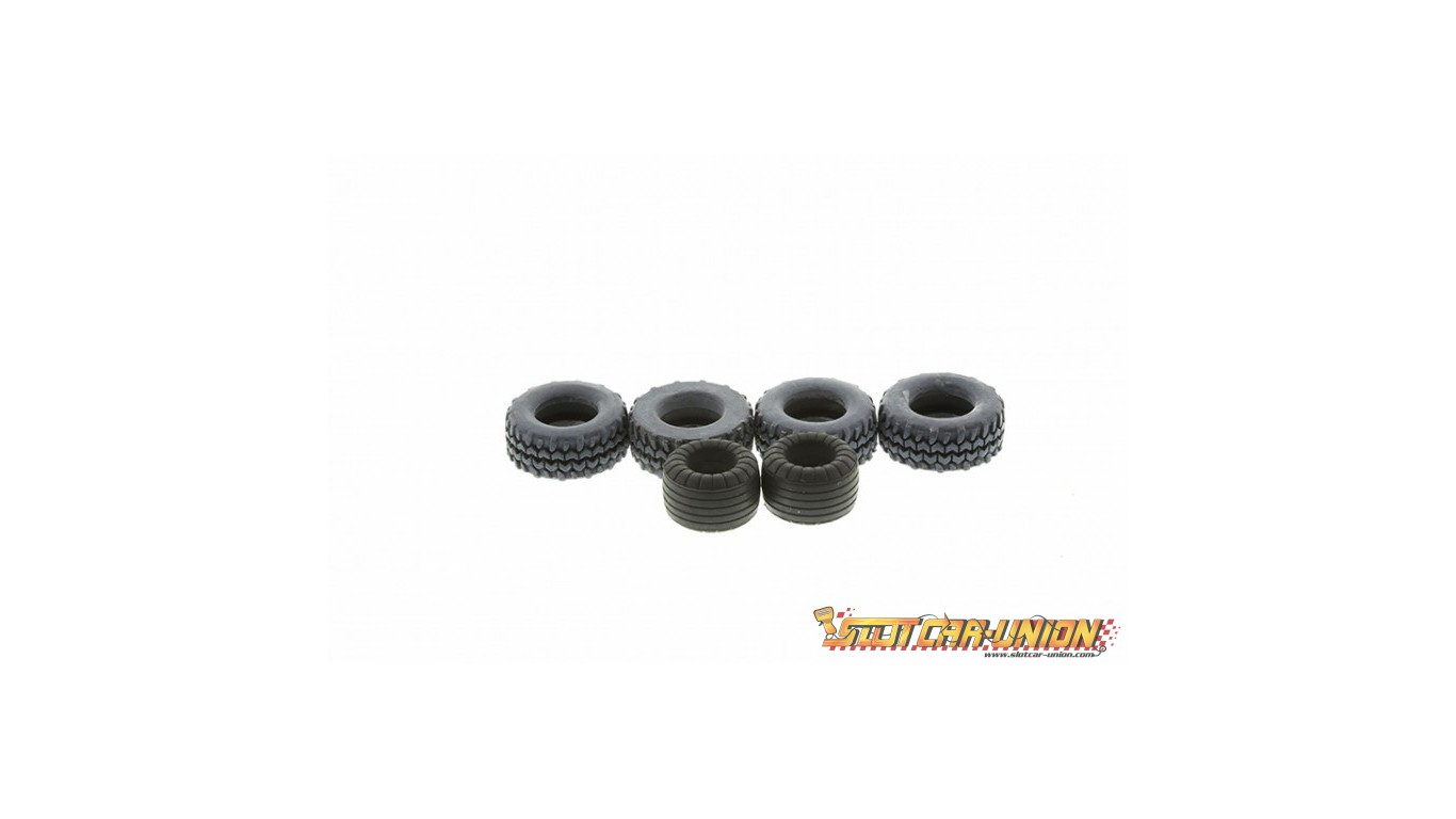 Scalextric W Batmobile Tyre Pack C