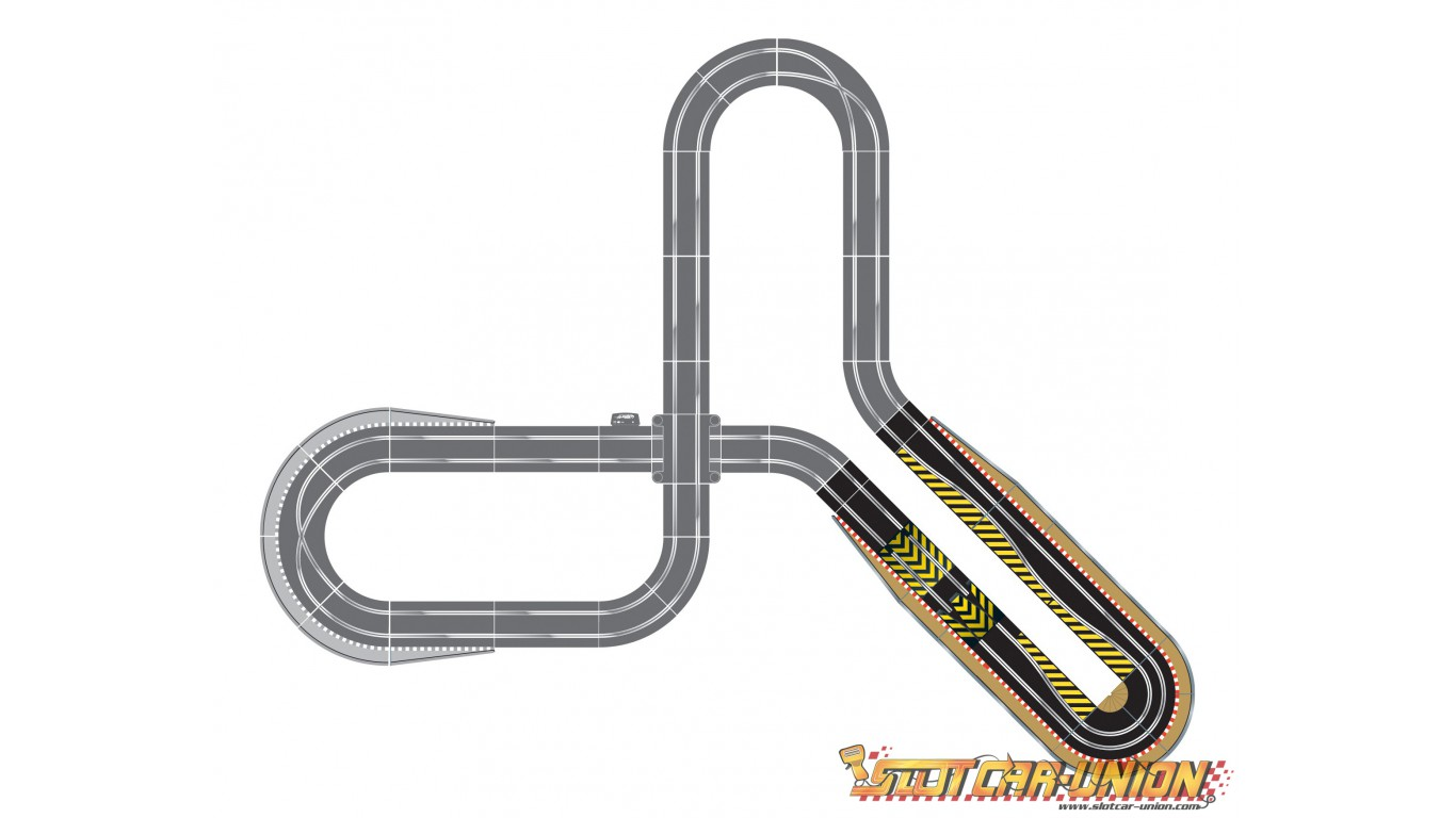 Scalextric Slot Car Track Diagrams