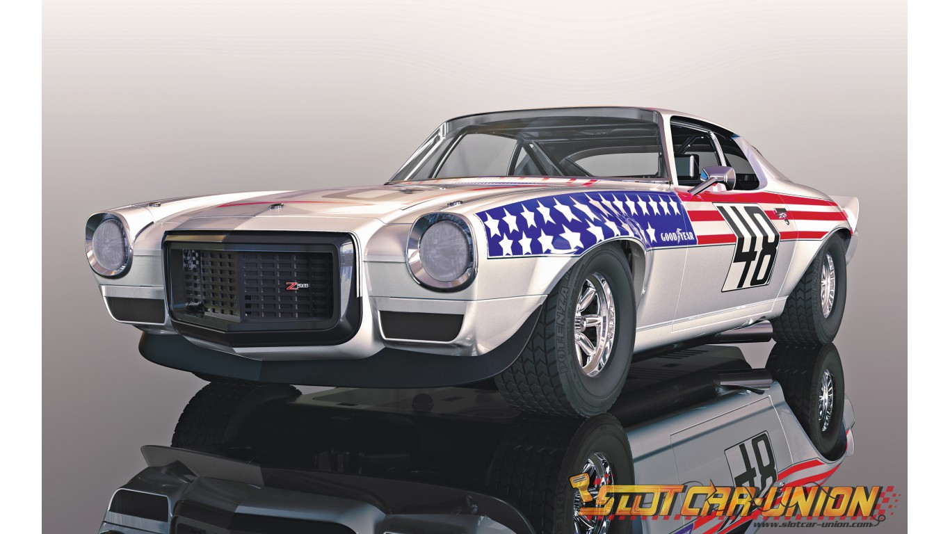 hight resolution of scalextric slot car 1 32 chevy camaro digital plug ready new lights white toys hobbies