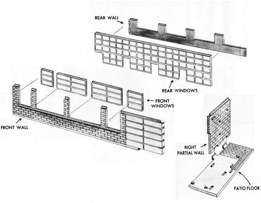 Aurora Model Motoring HO School House Kit #654