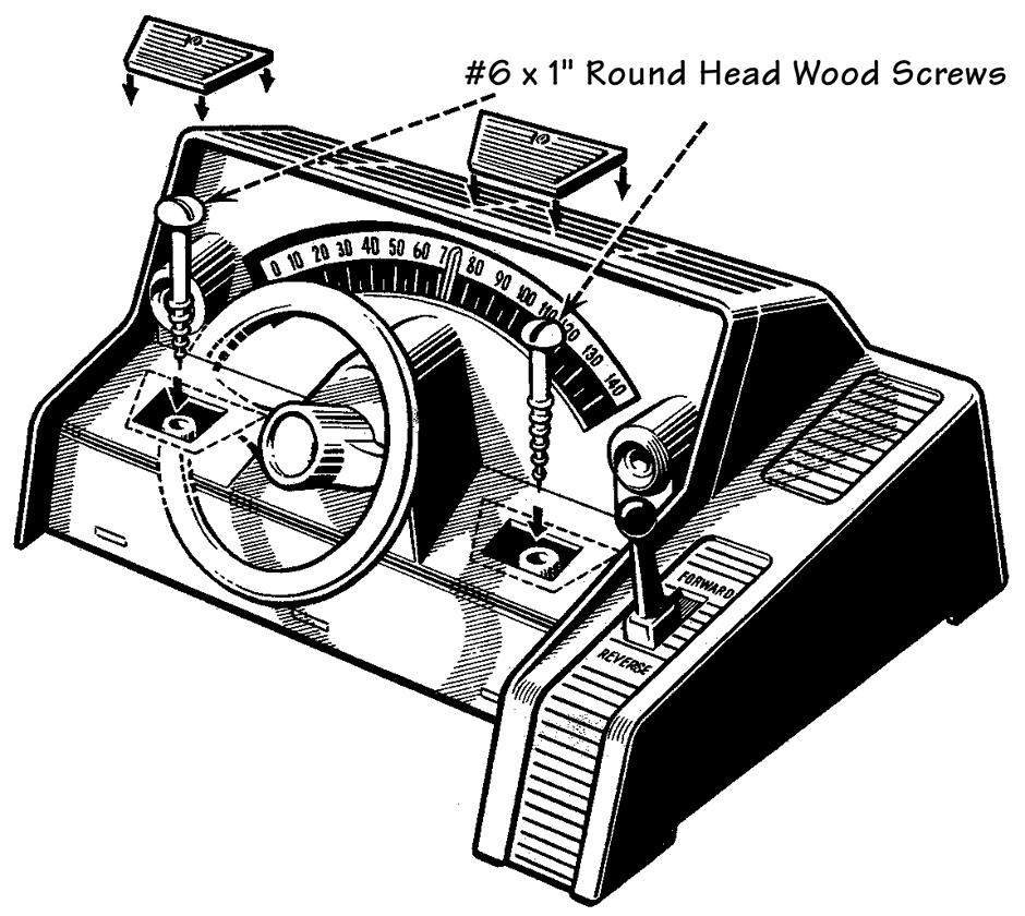 Car Dashboard Sketch Templates