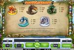 tabella info dragon island