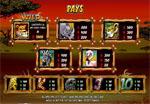 paytable wild gambler