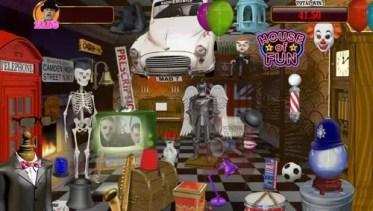 House of fun bonus game in play