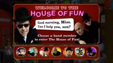 House of fun bonus game entry screen
