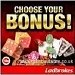 Ladbrokes choose your own bonus
