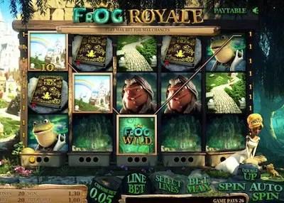 Frog Royale slot reels