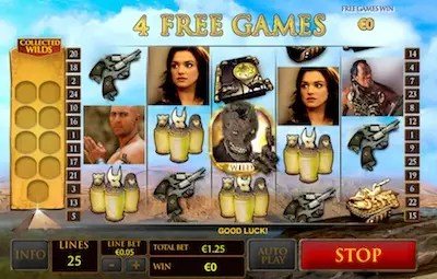 Mummy slot free spins and Super Spin