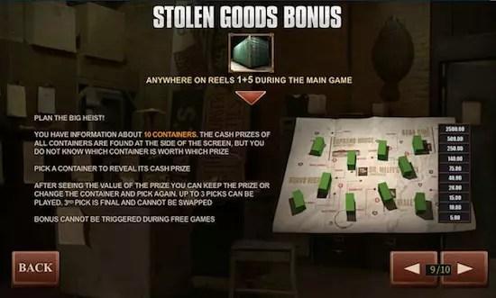 stolen goods bonus sopranos
