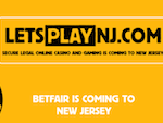 Betfair open Casino in New Jersey USA