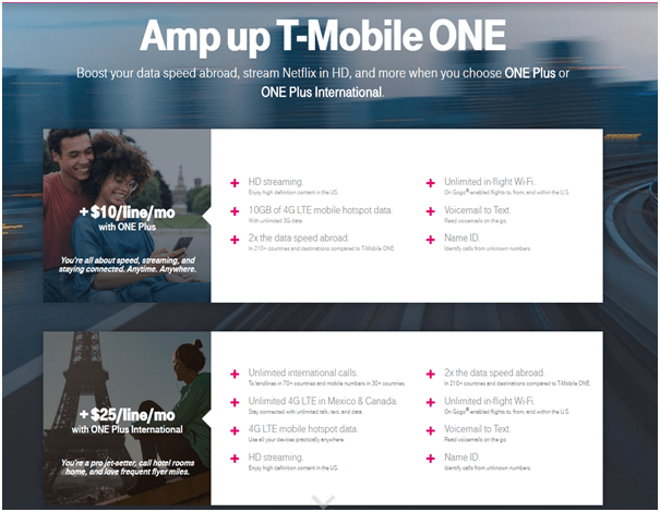 T Mobile unlimited plans