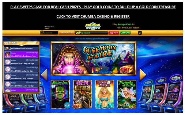 Chumba Casino To Play Slots on iPhone