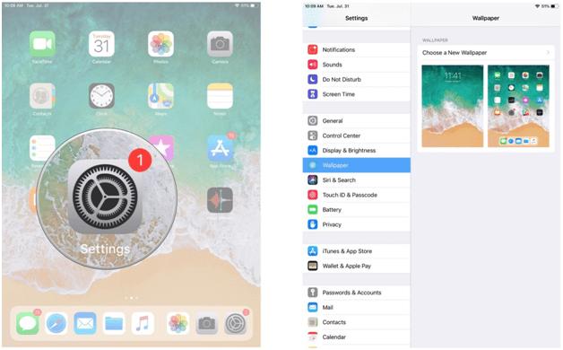 Customize iPhone Lock Screen
