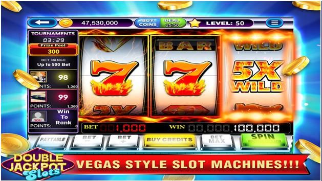 Doubel Jackpot slots features