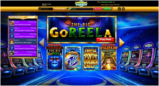 Games to play at Chumba Casino