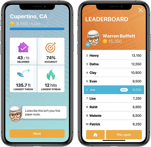 How to win Warren Buffet's Paper Wizard game app