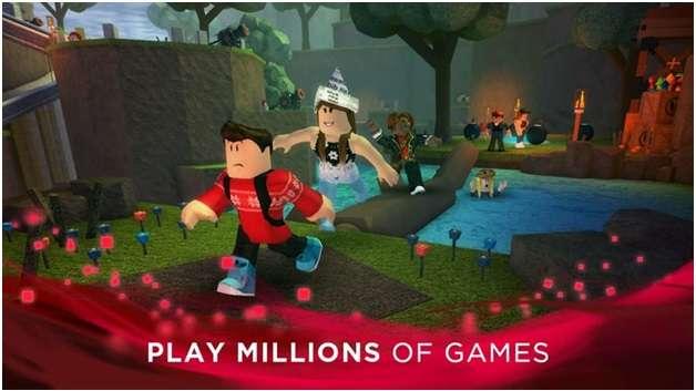 Roblox app- Play games