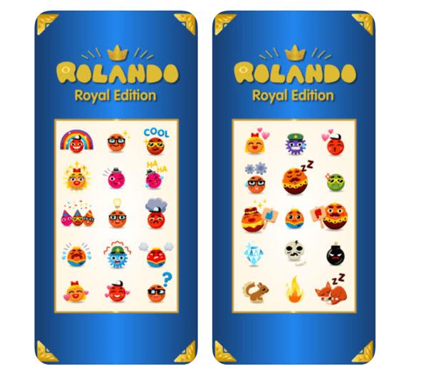 Rolando game on iMessage