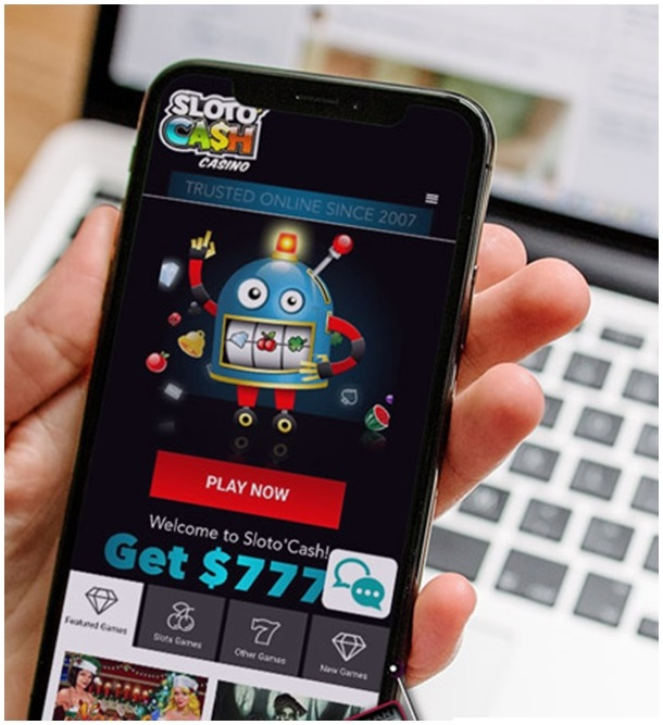 How to get started to play at Sloto cash with your iPhone?