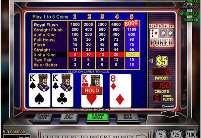 Things to Know about Double Bonus, Pick'em Poker